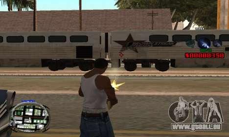 C-HUD (LSPD) pour GTA San Andreas deuxième écran