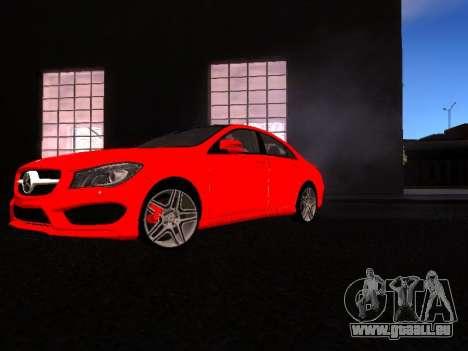 Mercedes-Benz CLA 250 pour GTA San Andreas laissé vue