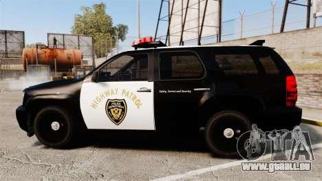 Chevrolet Tahoe 2007 LCHP [ELS] für GTA 4 linke Ansicht