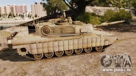 M1A2 Abrams für GTA 4 linke Ansicht