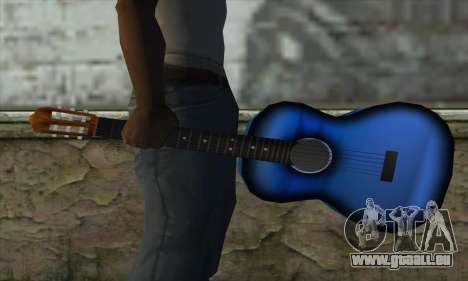 Guitare pour GTA San Andreas troisième écran