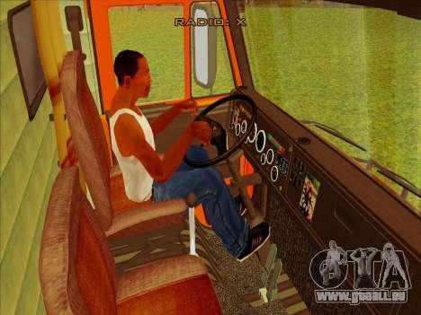 KamAZ-65115 für GTA San Andreas Rückansicht