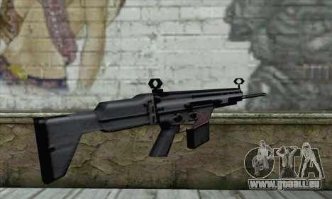 Fusil pour GTA San Andreas deuxième écran