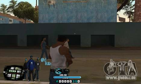C-HUD Rifa pour GTA San Andreas deuxième écran