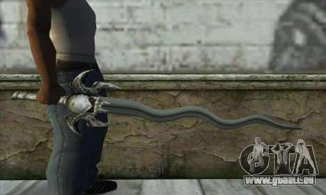 Soul Reaver Sword pour GTA San Andreas troisième écran
