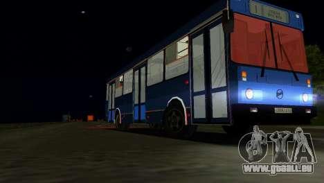 LIAZ-5256 pour GTA Vice City vue latérale