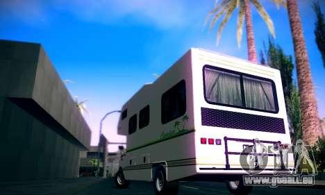 GTA V Camper pour GTA San Andreas laissé vue