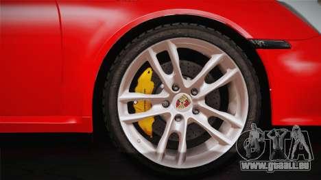 Porsche 911 Carrera pour GTA San Andreas vue de droite