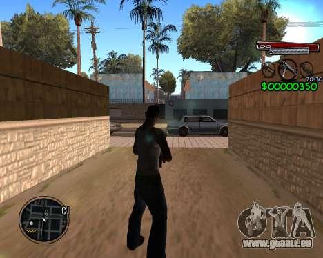 C-HUD by Santoro pour GTA San Andreas deuxième écran