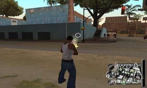C-HuD Black White pour GTA San Andreas troisième écran