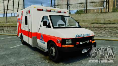 Brute Luxaid Ambulance [ELS] pour GTA 4