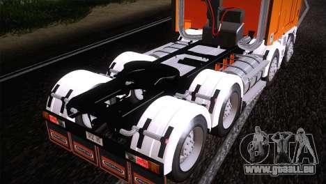 Freightliner Argosy 8x4 pour GTA San Andreas vue de droite