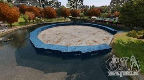 Open arena für den Kampf gegen Fahrzeuge v2.0 für GTA 4