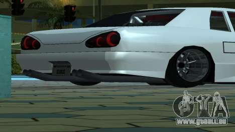 Elegy 280sx v2.0 für GTA San Andreas Räder