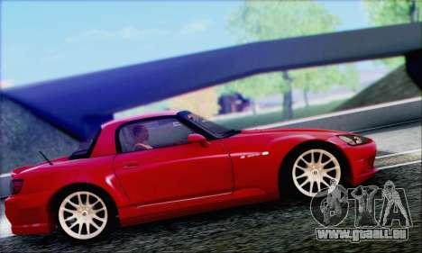 Honda S2000 Daily pour GTA San Andreas vue de dessous