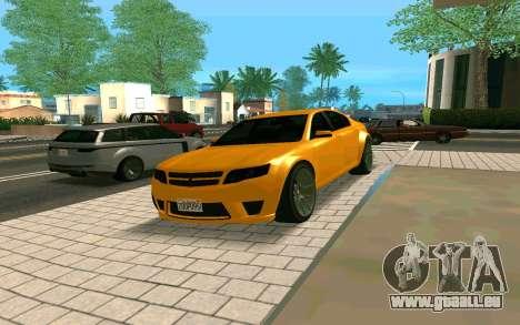 GTA V Fugitive Version 2 FIXED für GTA San Andreas rechten Ansicht