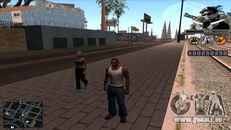C-Hud Eazy-E pour GTA San Andreas