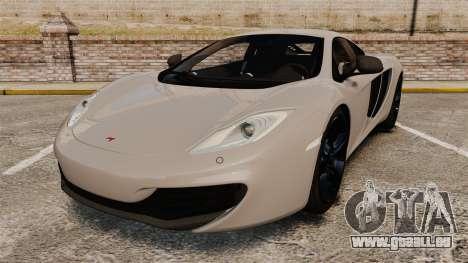 McLaren MP4-12C 2012 [EPM] pour GTA 4