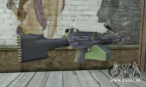 M16 из Postal 3 für GTA San Andreas zweiten Screenshot