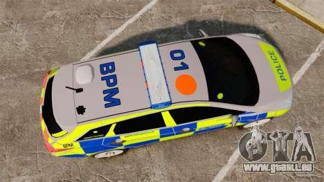 Hyundai i40 2013 Metropolitan Police [ELS] pour GTA 4 est un droit