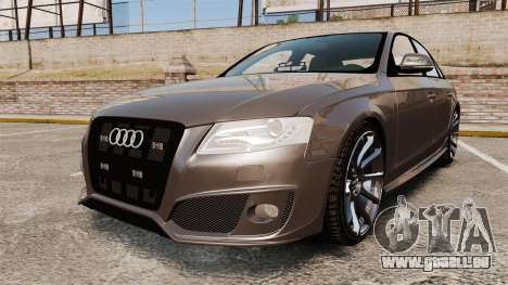 Audi S4 2013 Unmarked Police [ELS] pour GTA 4
