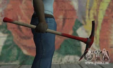 Pickaxe für GTA San Andreas her Screenshot