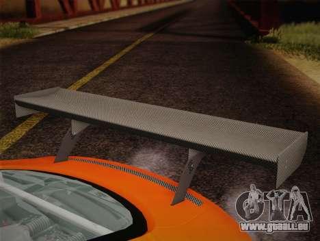 Audi R8 LMS v2.0.4 DR pour GTA San Andreas vue de dessus