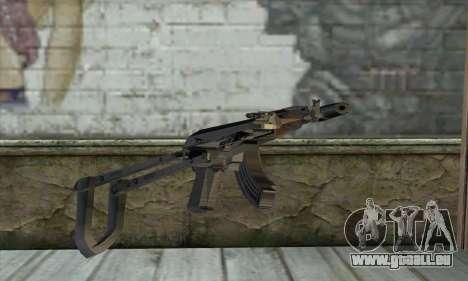 Silenced M70AB2 pour GTA San Andreas deuxième écran