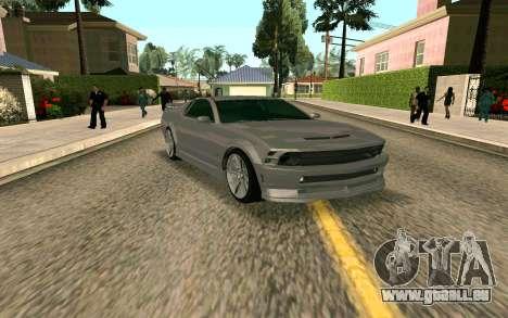 GTA V Vapid Dominator pour GTA San Andreas laissé vue