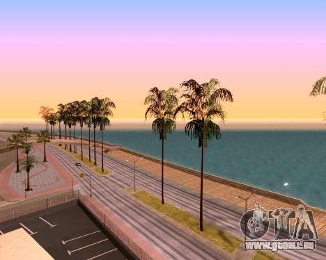 ENB pour PC faible pour GTA San Andreas quatrième écran