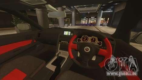 Nissan Skyline GTR-34 Nismo Z-Tune pour GTA 4 Vue arrière