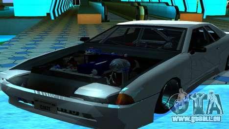 Elegy 280sx v2.0 für GTA San Andreas zurück linke Ansicht
