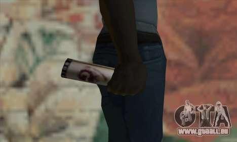 Montana Gold Spray pour GTA San Andreas troisième écran