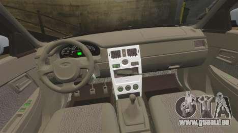 VAZ-2170 Polizei für GTA 4 Seitenansicht