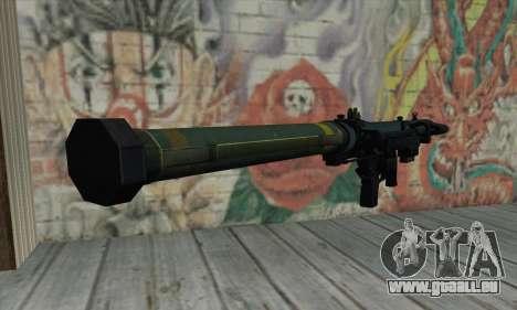 SMAW BF3 für GTA San Andreas zweiten Screenshot