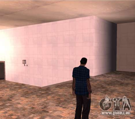 HMOST HD pour GTA San Andreas deuxième écran