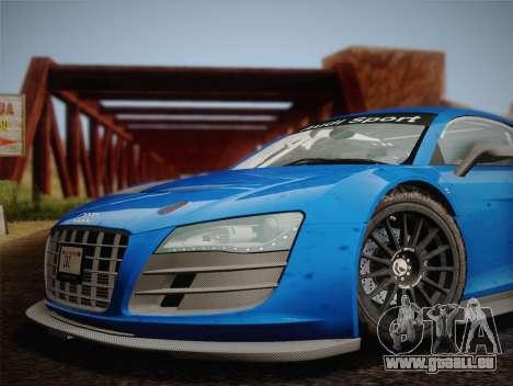 Audi R8 LMS v2.0.4 DR pour GTA San Andreas vue arrière
