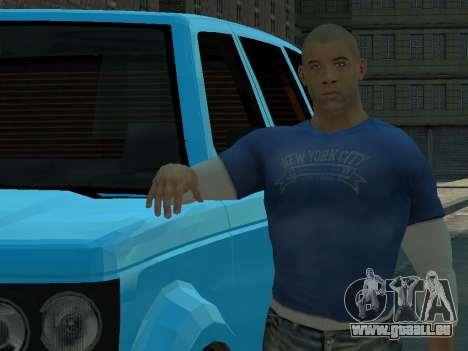 Vin Diesel Wheelman pour GTA 4 troisième écran