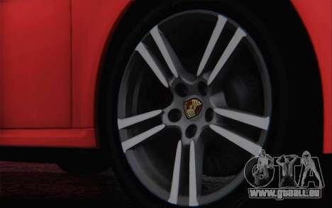 Porsche 911 Turbo pour GTA San Andreas vue de dessus