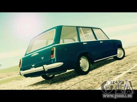 Fiat 124 Familiare pour GTA San Andreas laissé vue