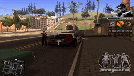 C-Hud Eazy-E für GTA San Andreas dritten Screenshot