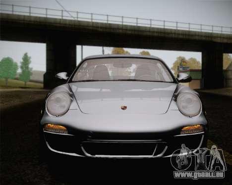 Porsche 911 Carrera pour GTA San Andreas vue de dessous