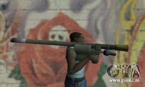 Raketenwerfer für GTA San Andreas dritten Screenshot