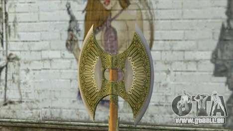 Legendary Combat Axe pour GTA San Andreas deuxième écran