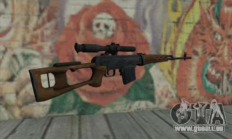 Dragunov Sniper Rifle für GTA San Andreas zweiten Screenshot