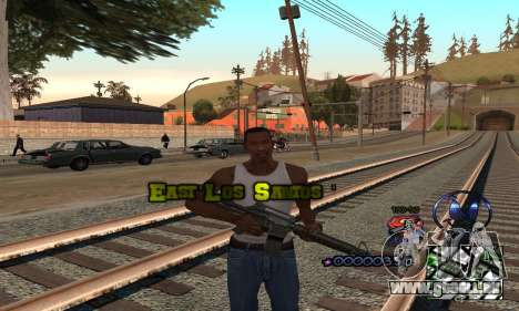HUD by Anatole pour GTA San Andreas