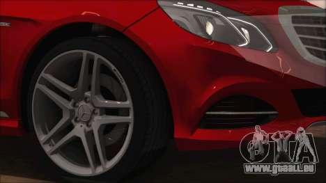 Mercedes-Benz E63 AMG 2014 für GTA San Andreas Seitenansicht