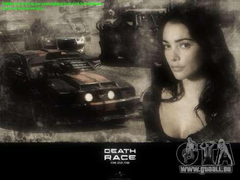 Boot-screens Death Race für GTA San Andreas dritten Screenshot