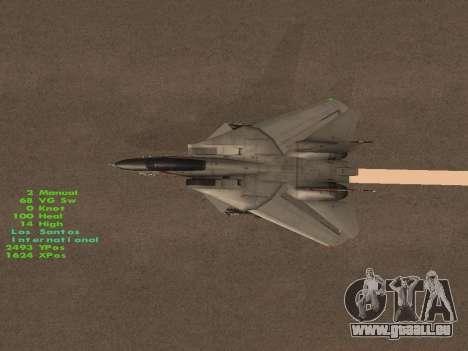 F-14 Tomcat-HQ für GTA San Andreas Motor