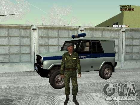 Le skin du combattant SIÈCLES MIA pour GTA San Andreas troisième écran